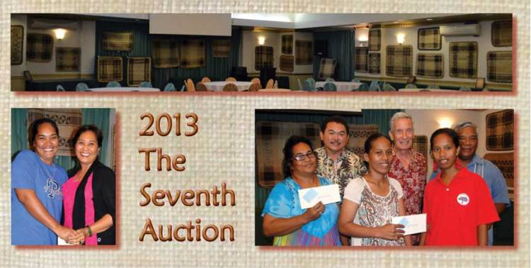 Seventh Annual Jaki-ed Auction, 2013